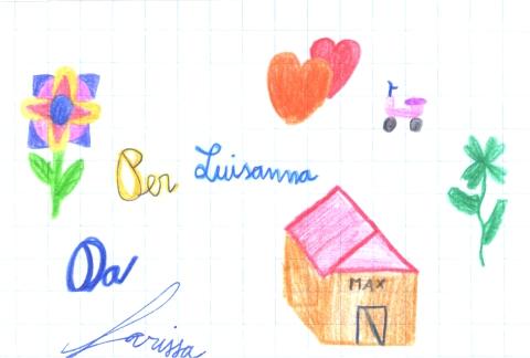 Leggi la lettera di Larissa