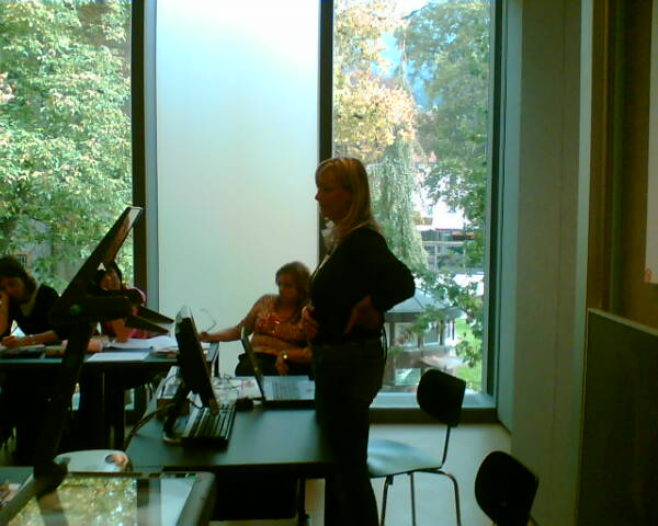 Anna Santon parla agli studenti