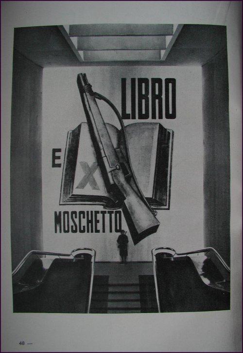 Immagine tratta dal catalogo della mostra del decennale dell'era fascista